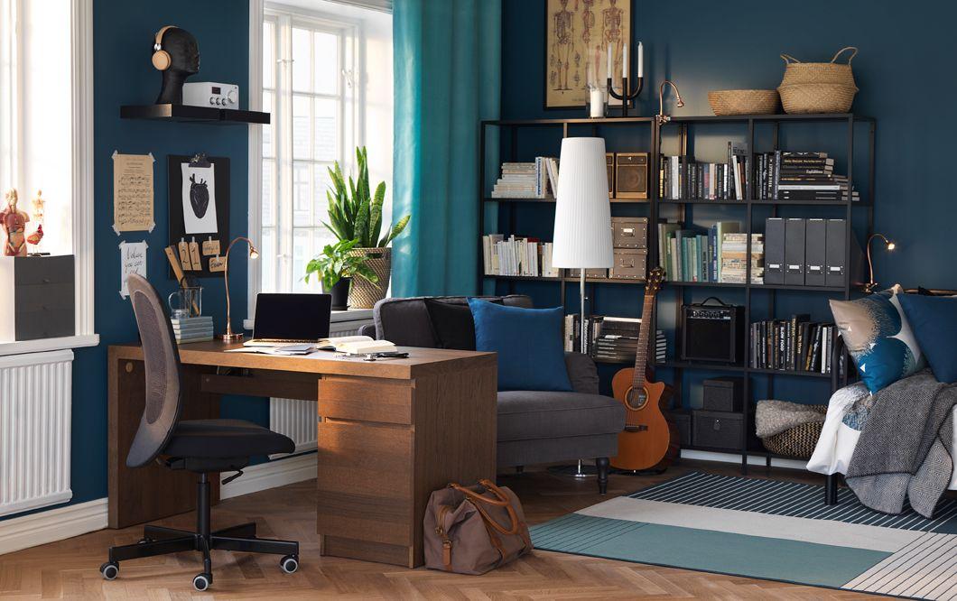 Arbeitszimmer Ikea ~ Wohnzimmer arbeitszimmer wohlfühlzimmer richte dir ein zuhause