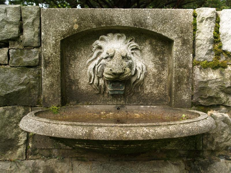 Northampton, Massachusetts (MA): Childu0027s Park: Lion Water