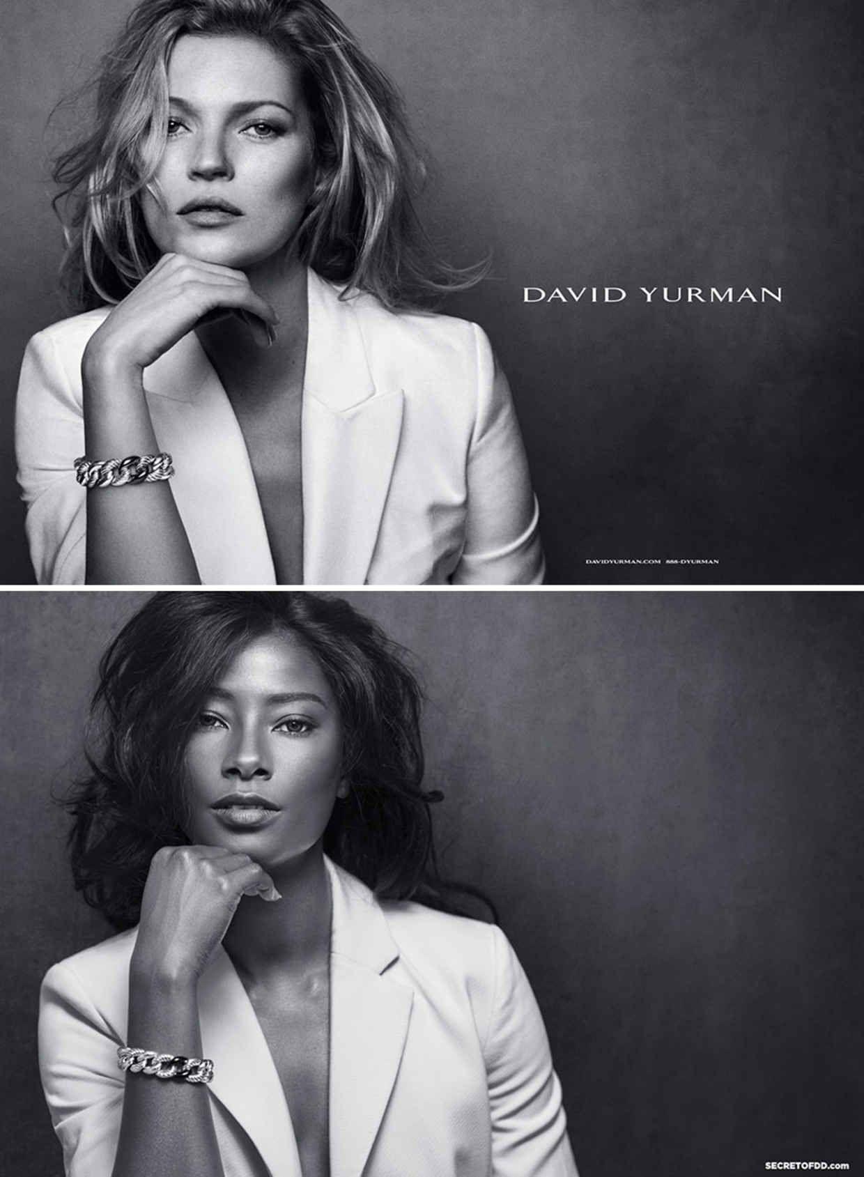 Model speaks our at lack of black faces on catwalk
