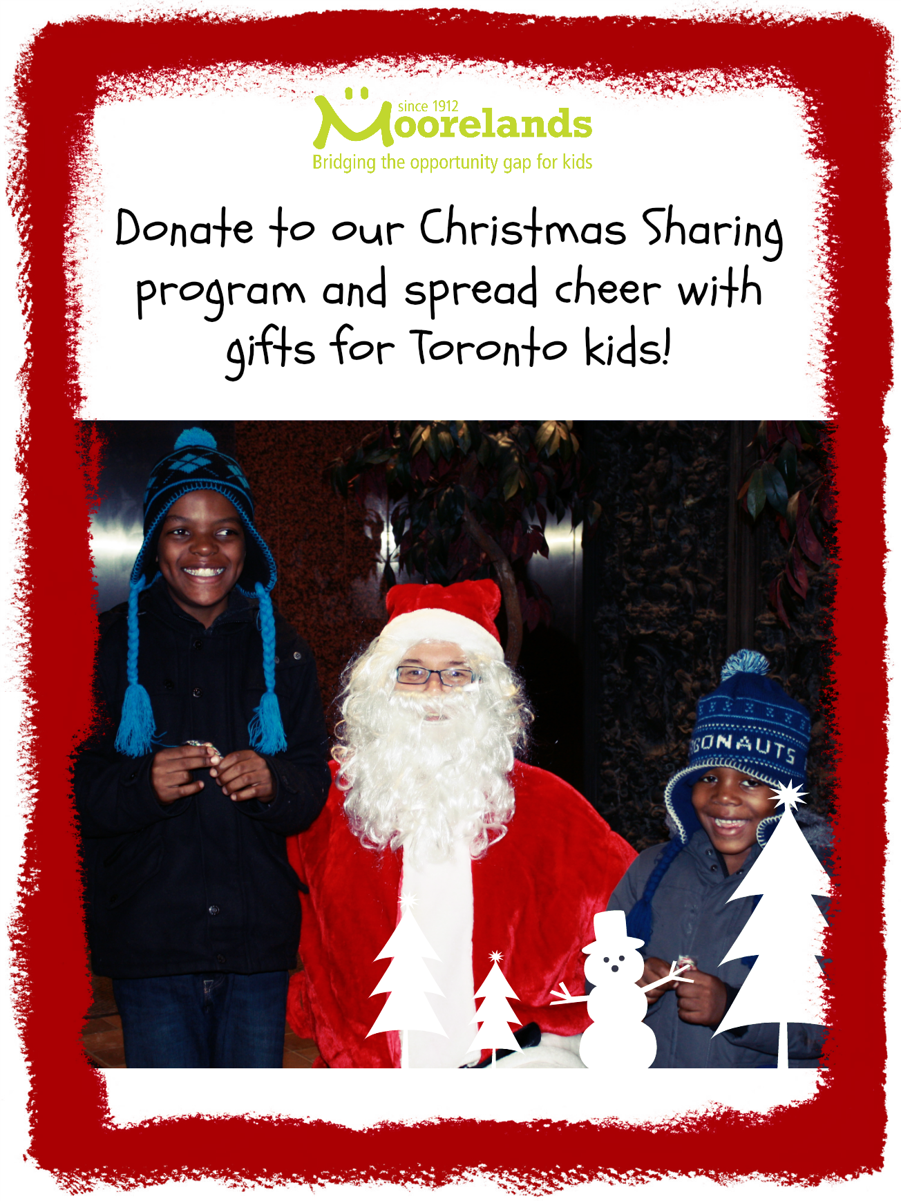 moorelands christmas sharing program provides low income families in toronto