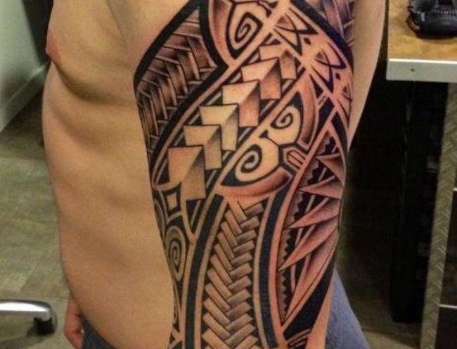 37 tribal arm tattoos that don 39 t suck samoan tattoo maori and tattoo designs. Black Bedroom Furniture Sets. Home Design Ideas
