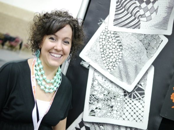 """What's Up with Zentangle? Are you a Zentangle master or does the thought of getting all 'Tangled up"""" in doodle mode make you shudder?"""