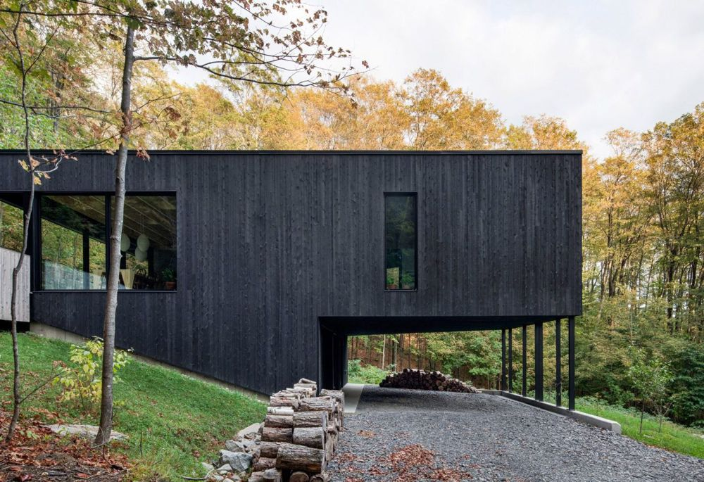 7 gorgeous black timber homes to swoon over