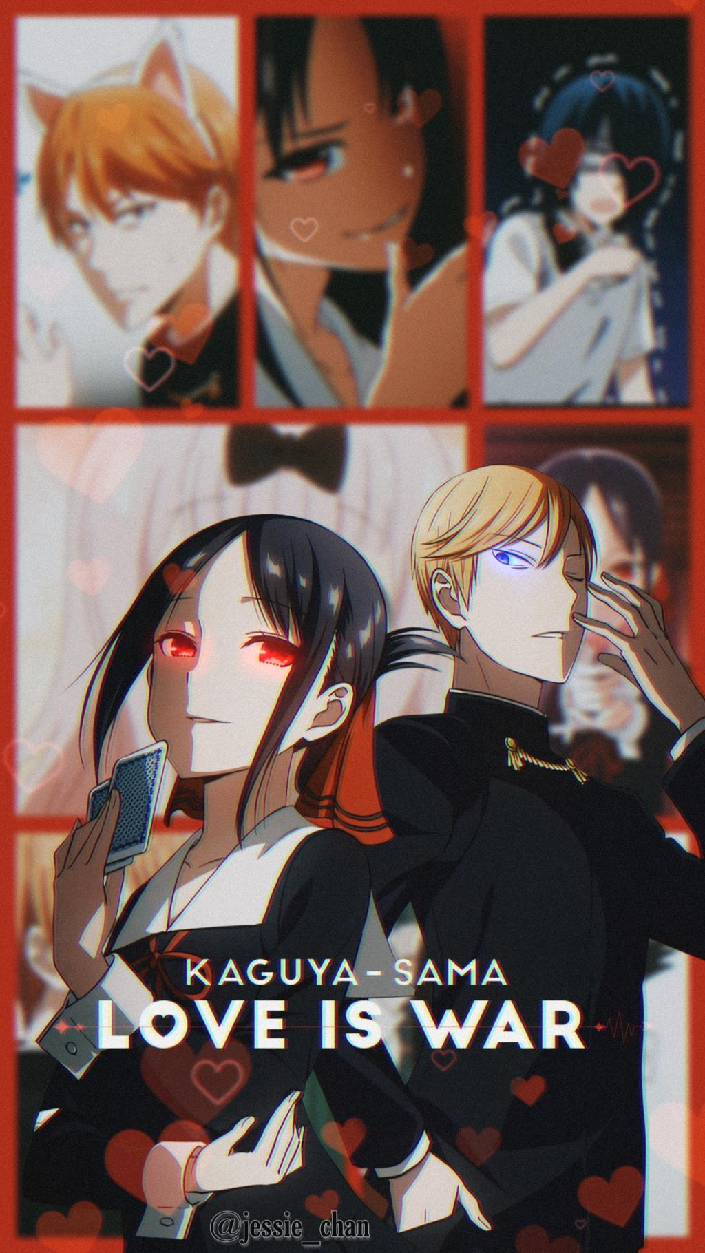 Wallpaper Kaguya Sama Love Is War Sama War Anime Love