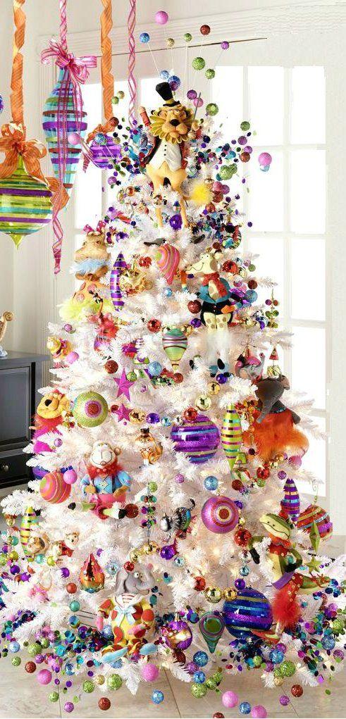 rboles de navidad 2017 2018 ideas y tendencias decora ideas - Como Adornar Un Arbol De Navidad