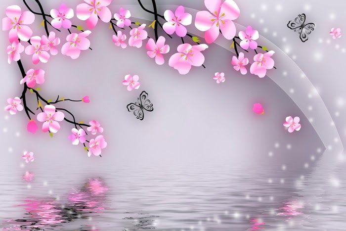 Menakjubkan 11 Gambar Bunga Kualitas Hd Anda Mencari Gif Animasi Bergerak Gambar Animasi Dan Ani Flower Wallpaper Cherry Blossom Wallpaper Custom Wall Murals