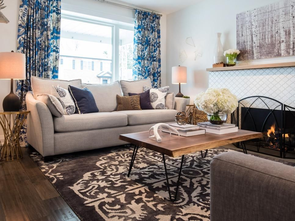 Modern Makeover From Hgtv S Property Brothers Property Brothers Living Room Living Room Remodel Living Room Decor On A Budget