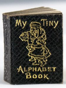 Books @ Bromer: My Tiny Alphabet Book in The Microbibliophile