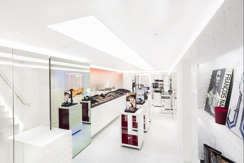 Nars has opened a standalone flagship store