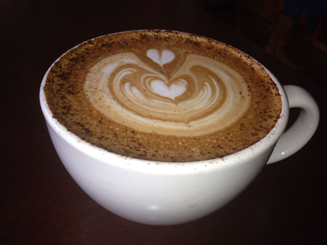 My fav turkish latte with cardamom from kean coffee in