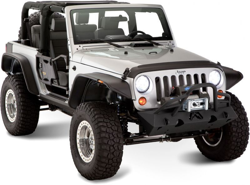 Bushwacker Flat Style Flares Jeep Wrangler Fender Flares Jeep