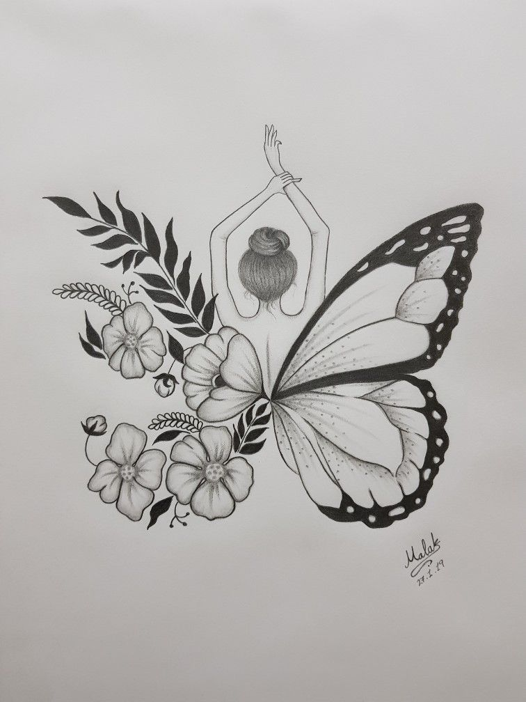 It's just an image of Refreshing Butterfly Drawing Tumblr