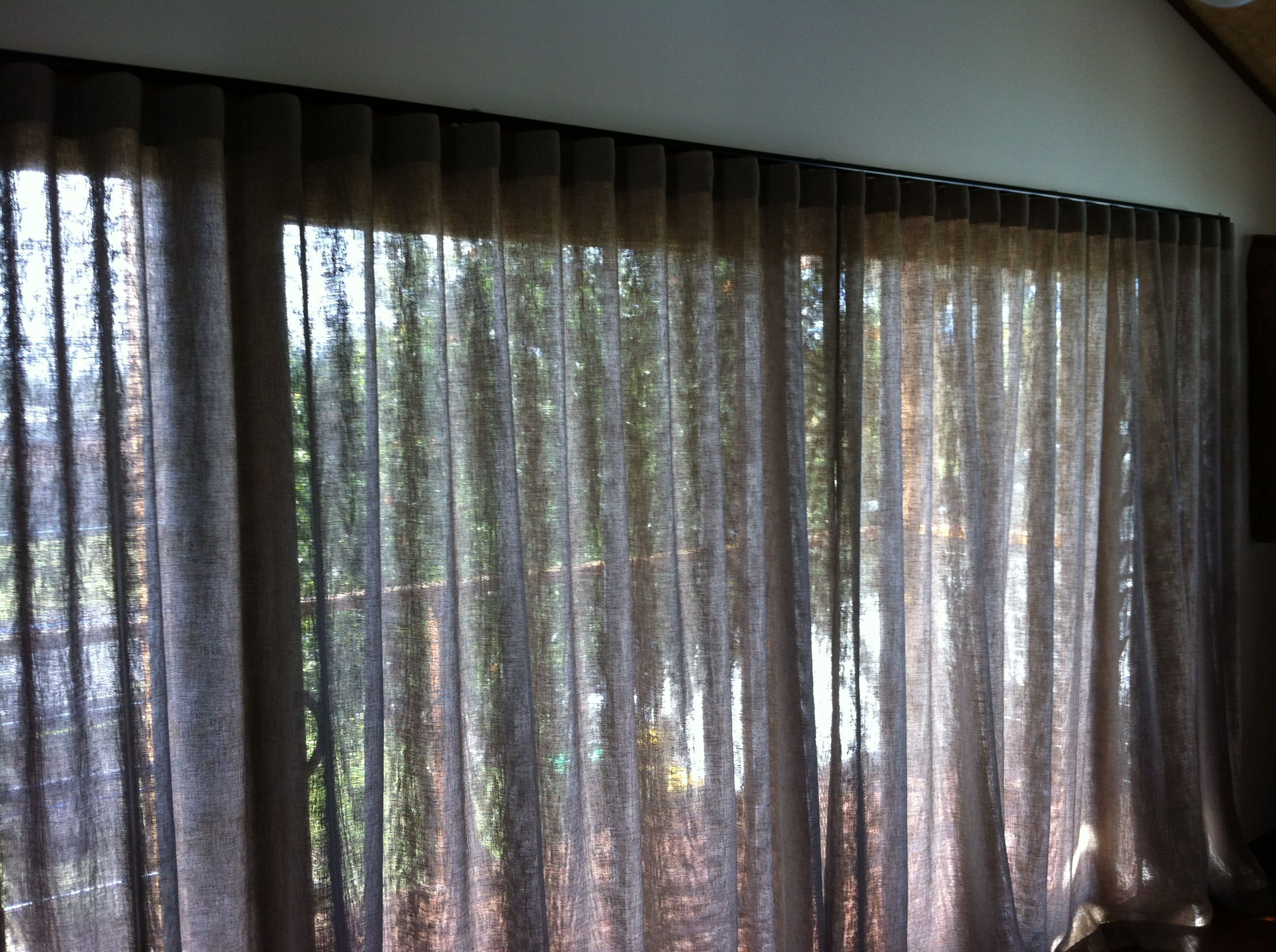Creative Blinds Awnings Wave Fold 60mm Sheer Curtain Curtains Sheer Curtain Blinds