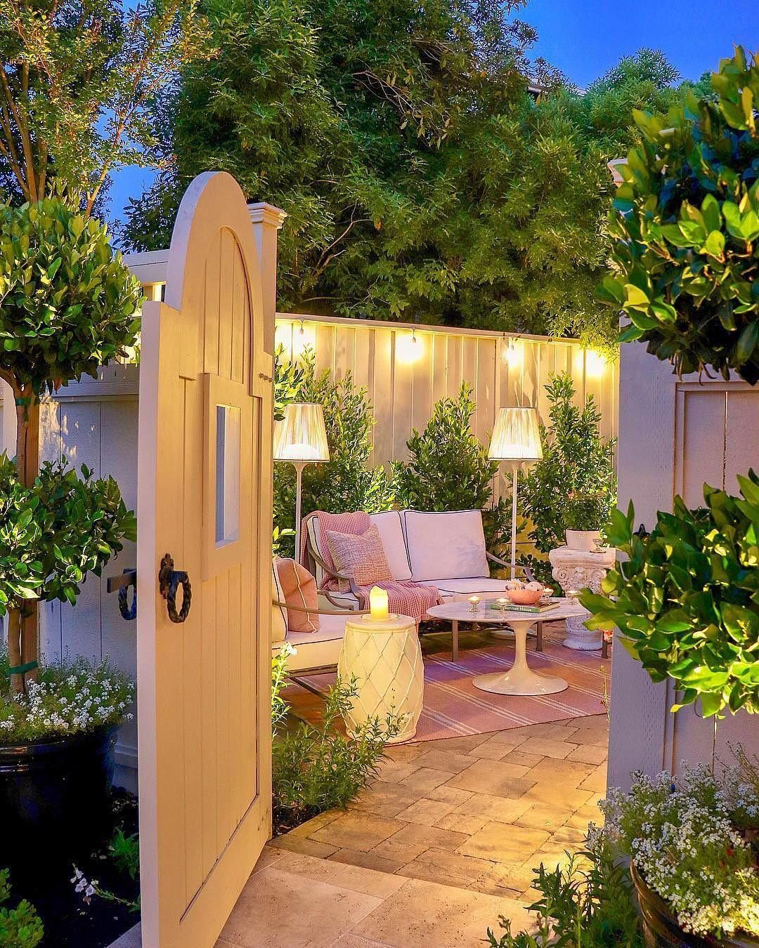 Good Housekeeping On Instagram Spring Backyard Inspo Right This