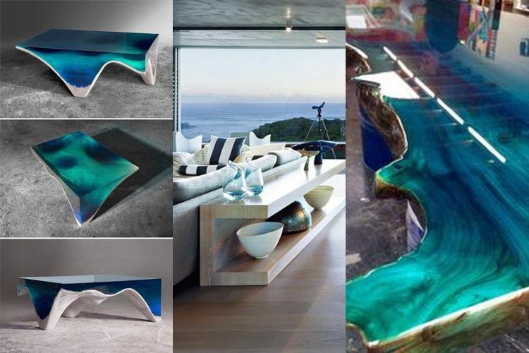 23 OCEAN COFFEE TABLE DESIGN IDEAS