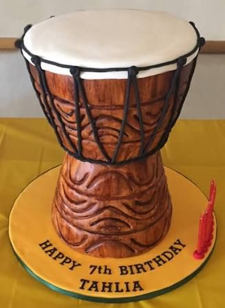 African Drum Cake Google Search Marcia S Birthday
