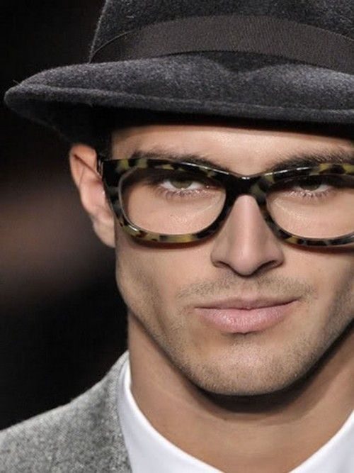 d5ae1e30a GLASSES. and i would be smirking like that too if i had them on ...