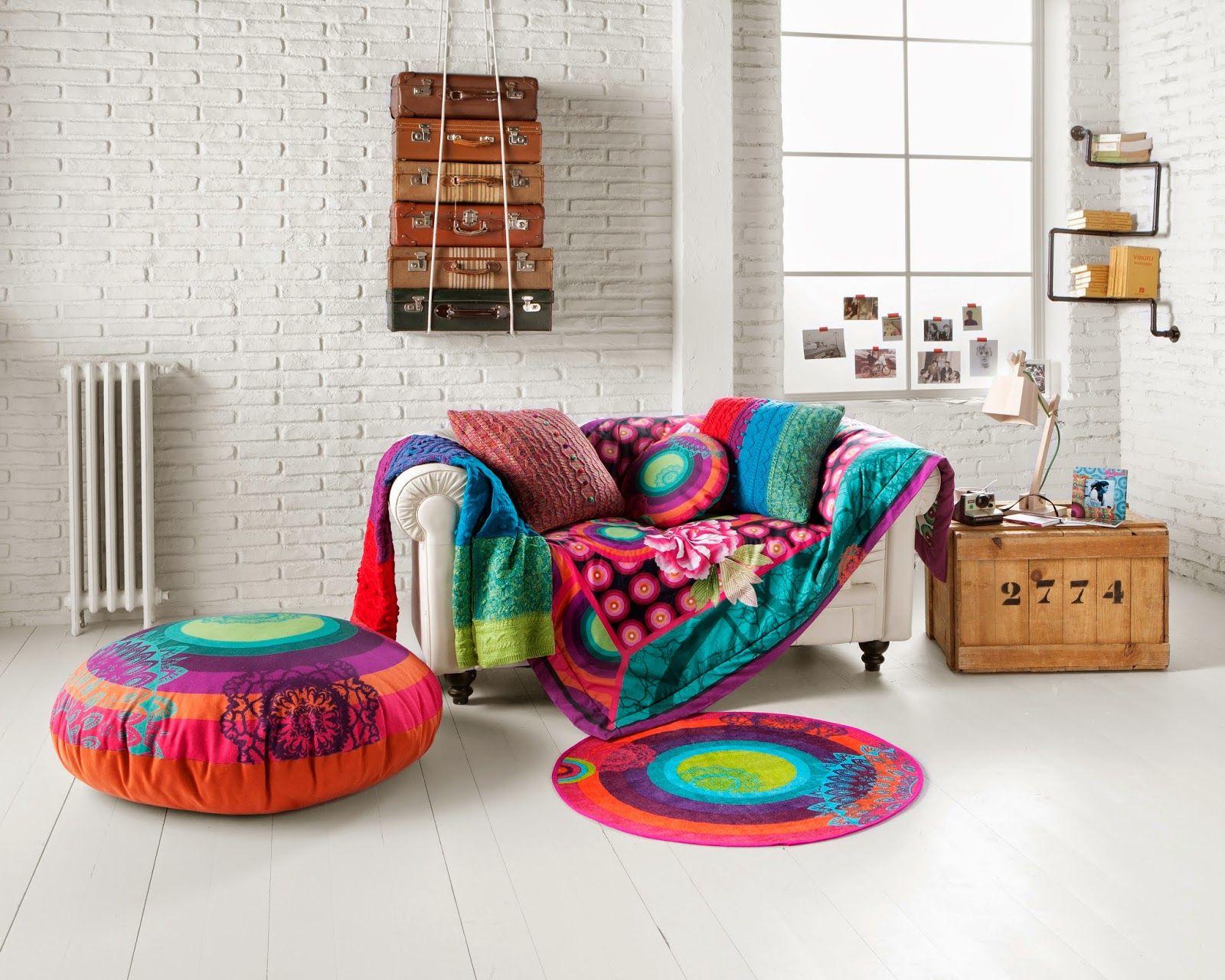 Cuscini Divano Desigual.Rooms Desigual Living Arredamento Idee Per La Casa E Decorazioni