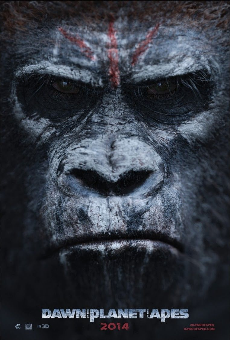 Extra Large Movie Poster Image for Dawn of the Planet of the Apes