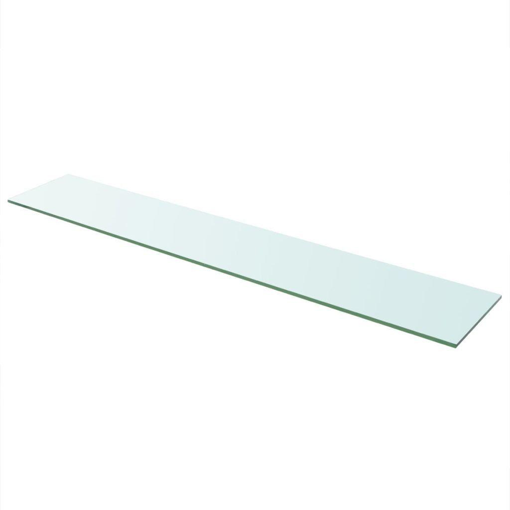 Glazen Muur Plank.Wandschap Transparant 110x20 Cm Glas Nieuw Speelgoed New