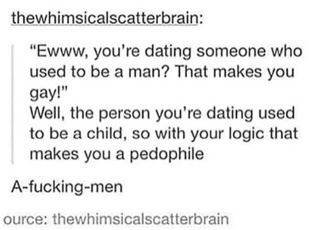 Dating someone ignorant