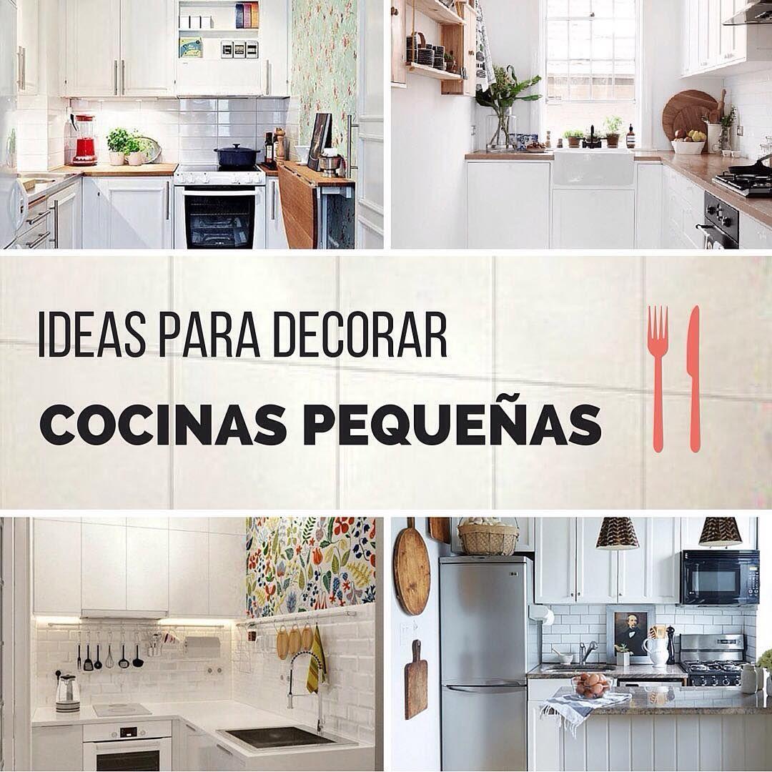 ideas con estilo para decorar cocinas pequeas handfie