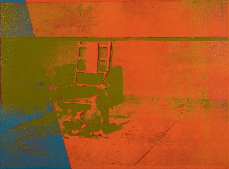 Big Electric Chair par Andy Warhol (1967)