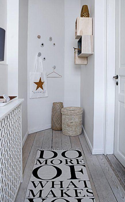 Aménager Petite Entrée | Déco Couloir | Pinterest | Petite Entrée