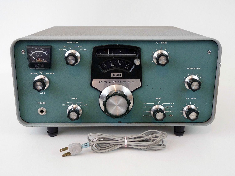 Heathkit SB-310 Ham Radio Amateur Radio Dust Cover