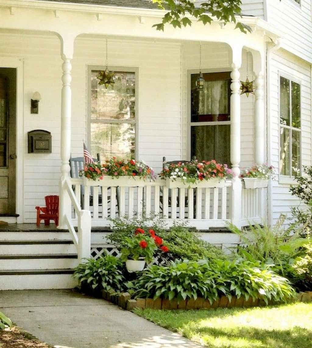 60 rustic farmhouse front porch decorating ideas small