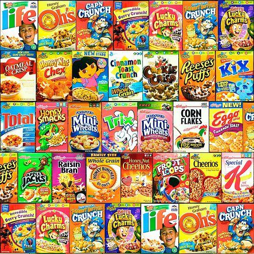 Kids Cereal, Cereal, Breakfast Cereal