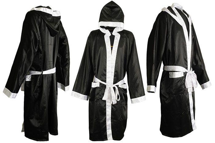 Diy Homemade Boxing Robe Boxing Costume Diy Boxer Costumes