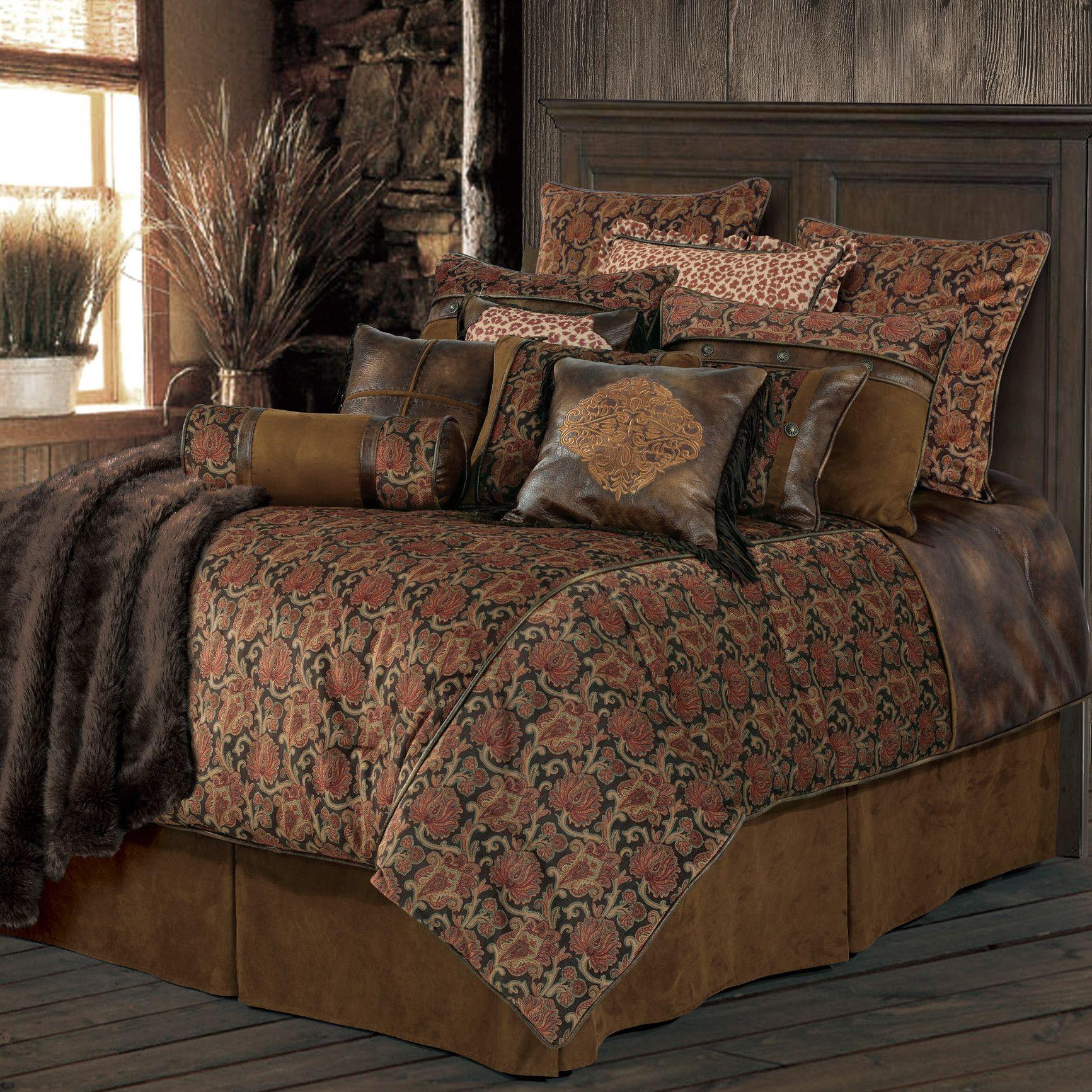 HiEnd Accents Austin Comforter Set & Reviews Wayfair