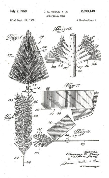 Schematic of aluminum xmas trees  Christmas Ideas  Pinterest