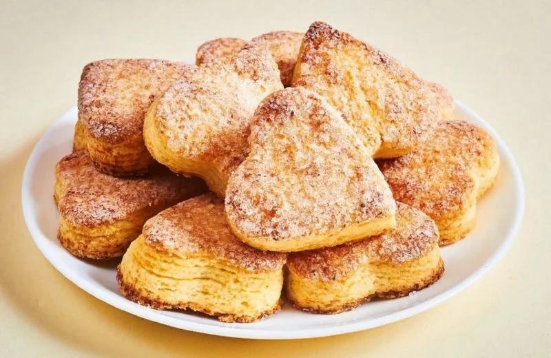 Творожное печенье на йогурте рецепт с фото