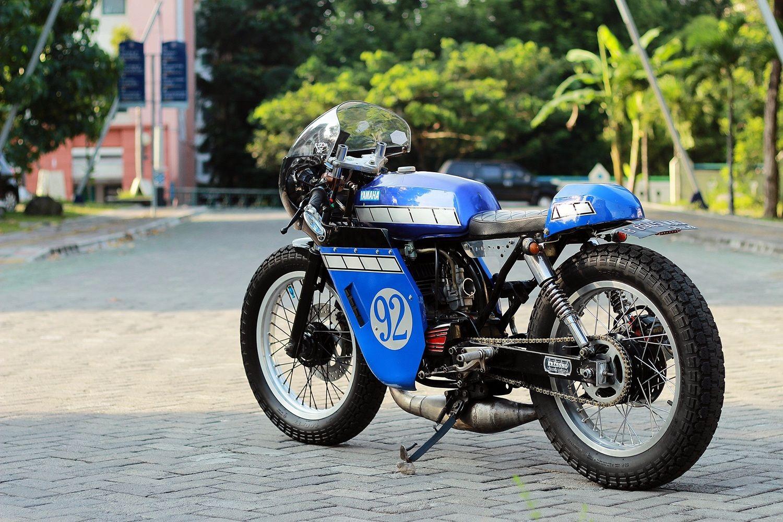 Yamaha Rx King 135 Cafe Racer Cafe Racer Bikes Cafe Racer Cafe