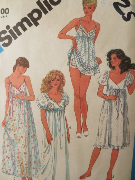 Vintage Simplicity 6468 Sewing Pattern 317e84227