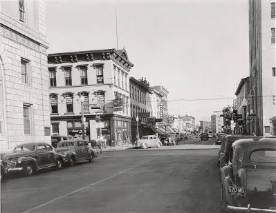 Central And South Main Street Middletown Ohio In The Mid Forties