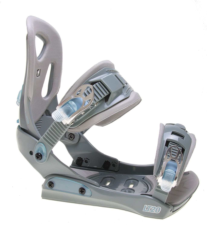 LTD LT20 Snowboard Bindings Grey