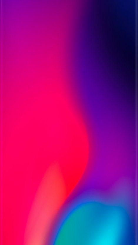 Curve Edge Colours Iphone Wallpaper Free Getintopik In 2020