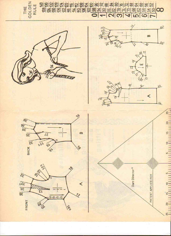 Vintage pattern ruler and vest by Pennie Annie - issuu | libro el ...