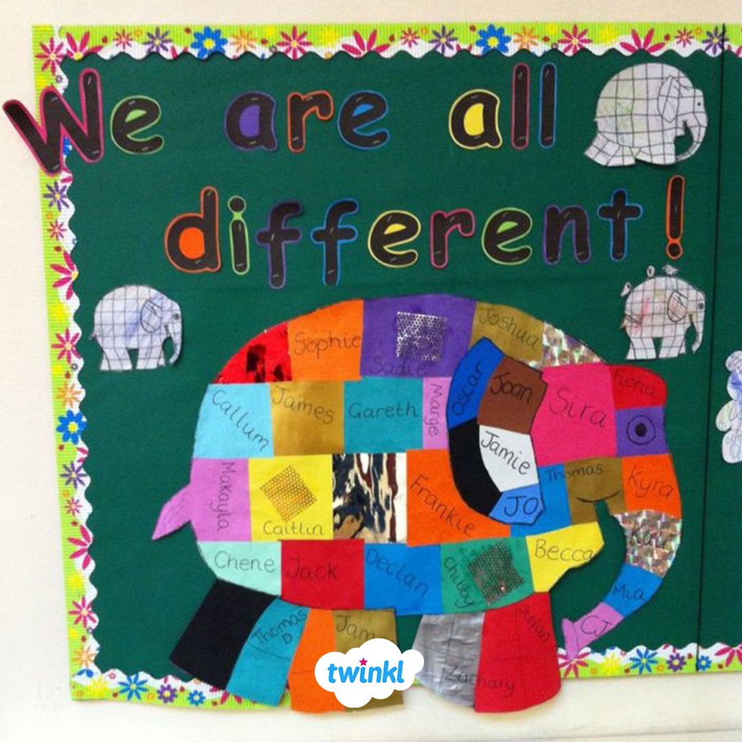 We Are All Different Classroom Display We Love This