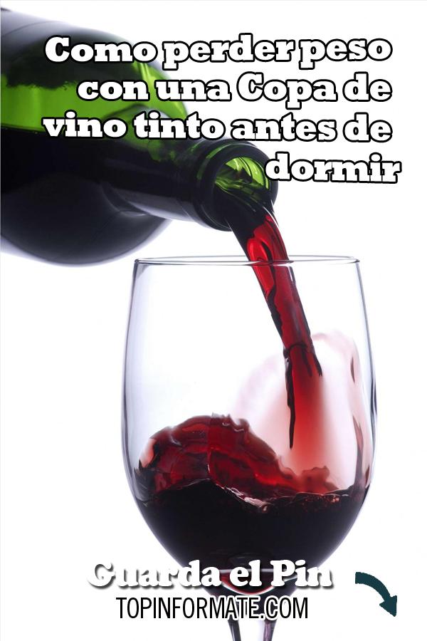 como preparar vino tinto para adelgazar
