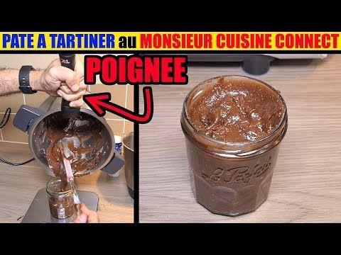Pâte à tartiner monsieur cuisine connect plus maison nutella au noisette thermomix #recettemonsieurcuisinesilvercrest