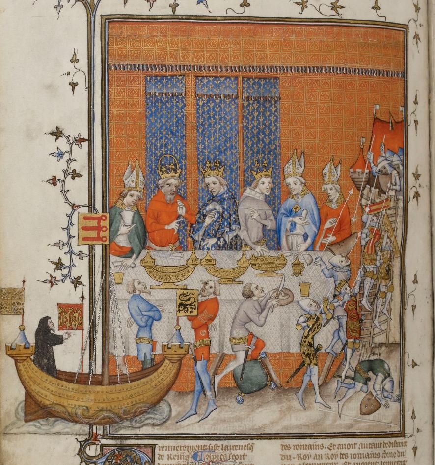 Grandes Chroniques de France, 1375-1380 http://gallica.bnf.fr/ark:/12148/btv1b84472995/