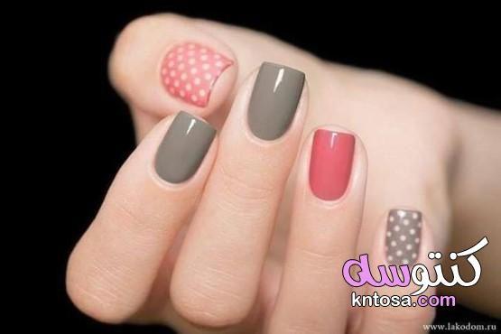 اجمل صور مناكير الموضه درجات مناكير فلورمار Pink Manicure Manicure Glitter Manicure