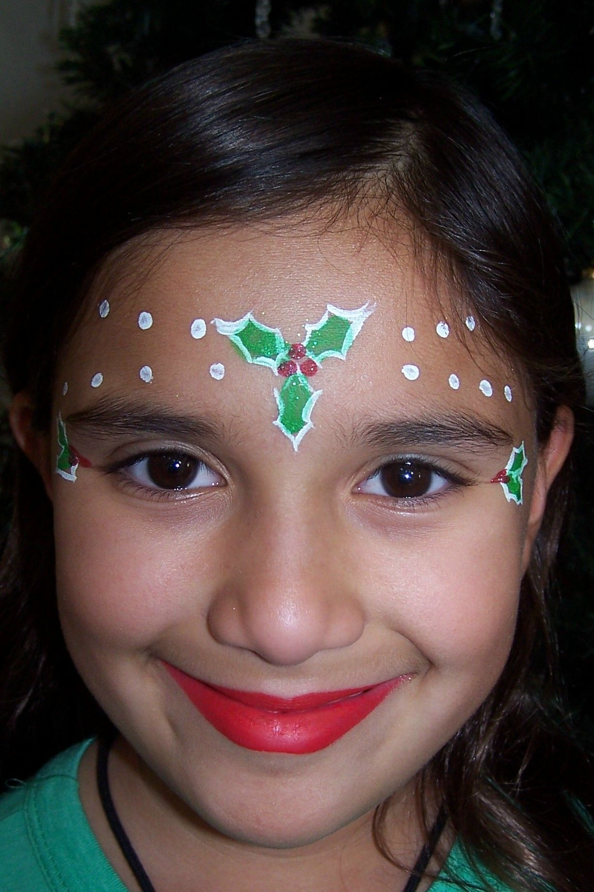 Christmas Face Paint.Pin On Face Painting Christmas