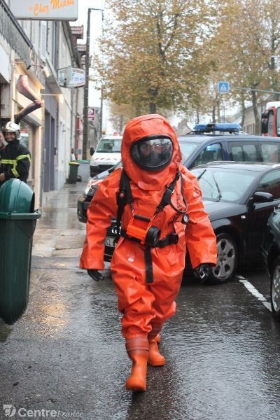 Hazard Suits Like The Ones Dan Te And Virgil Use To Disguise