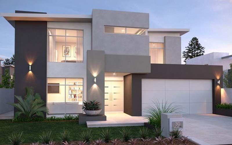 Me encanta esta fachada y me encanta los colores, la solucion a ...