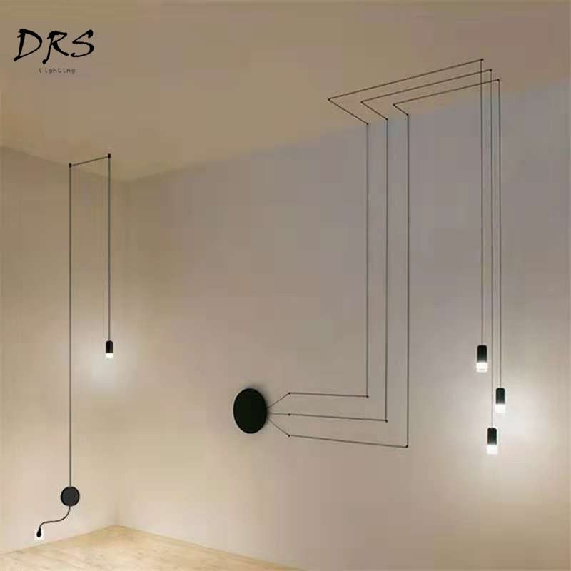 Smarter Shopping Better Living Aliexpress Com Living Room Light Fixtures Vintage Pendant Lamp Black Wall Lights